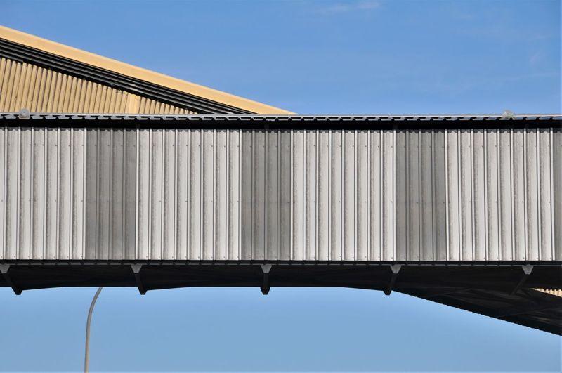 Conveyor Belt Bridge Built Structure Clear Sky Day España Industry No People Sky
