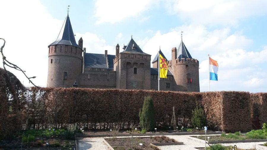 Architecture Built Structure Castle Castle Garden Castle Towers Muiderslot