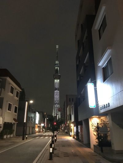 Tower No People Architecture City Illuminated Street Building Tower Night