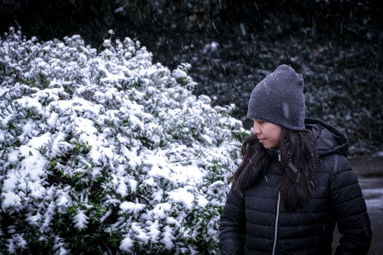 Snowfall in february