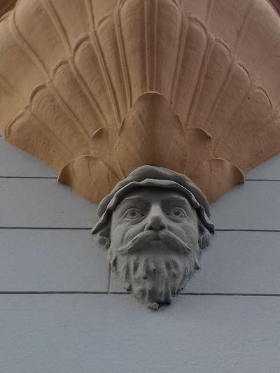 Kopflastig Kunst Am Bau Gesicht Face BART Konsolenkopf Konsole Bauplastik Gründerzeit Bärtiger Statue Sculpture No People Outdoors Day Close-up Mammal