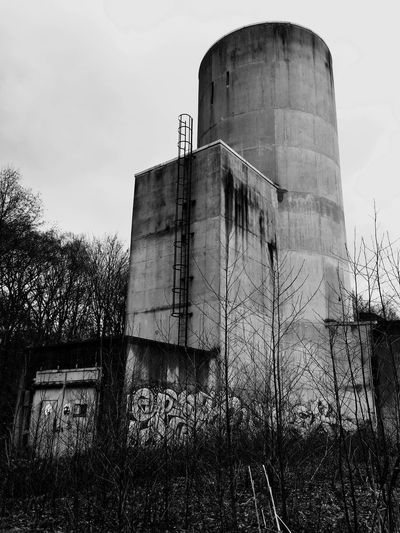 Lost Places Lost Places Sky Built Structure Building Exterior Architecture Industry Low Angle View Nature Industrial District