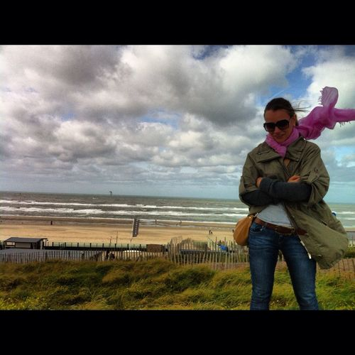 Zandvoort Netherlands With My Cousin C: