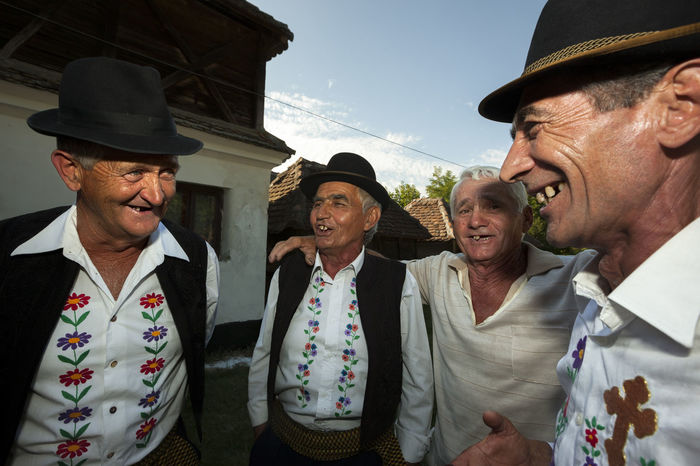 Choir Celebration People Singing Choir  Mature Folk Costume Rural Countryside Village Old Ornamental Men Male Hat Outdoors Teeth Friendship Serbia Snap a Stranger Enjoy The New Normal This Is Aging