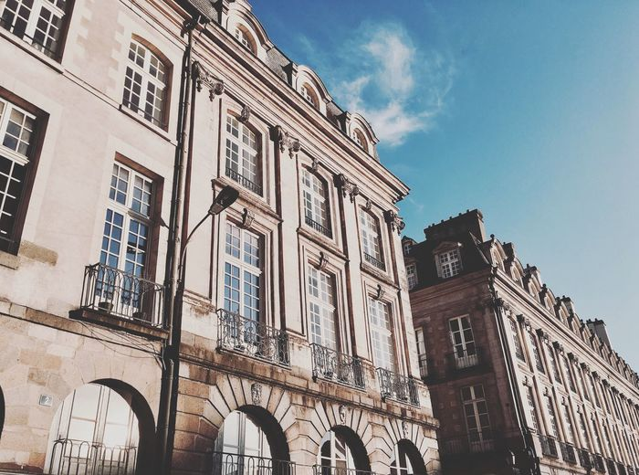 Baroque Architecture Building Exterior Architecture Built Structure Sky Low Angle View Window Outdoors No People Day City