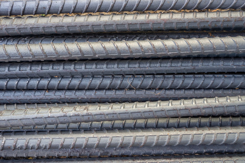 The construction steel bar image close up for background. Construction Architecture Backgrounds Close-up Construction Industry Construction Steel Bar Construction Work Construction Worker Day Full Frame Industry No People Outdoors Pattern Stack Steel Bars Textured