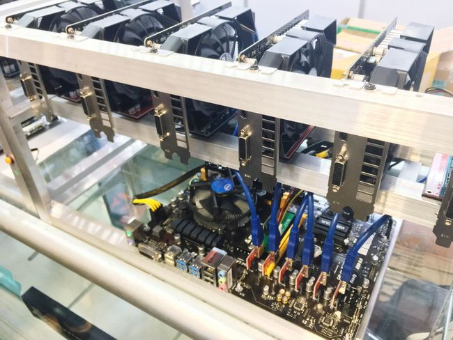 Machine Part Technology Production Line Indoors  Machinery Manufacturing Equipment Factory Electronics Industry Industry Computer Part No People Control Panel Close-up Day Bitcoin Miner Bitcoins Network Connection Plug