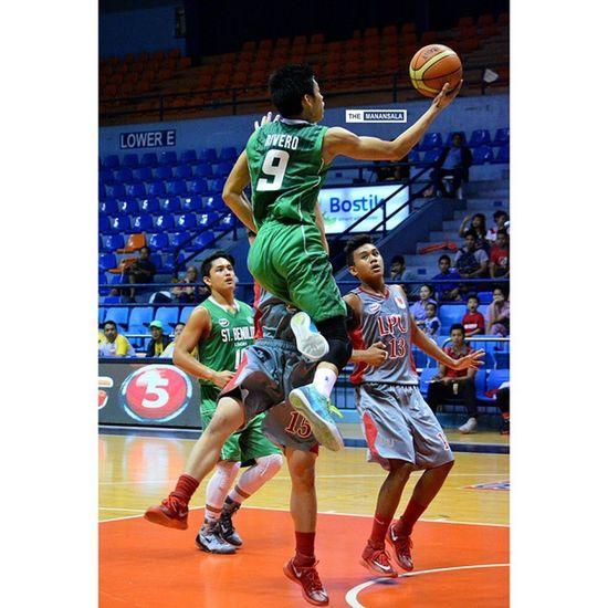 @riccinsweetness ??? . . . NCAA Ncaa90 Ncaaseason90 CSBvsLPU juniors benilde lsgh greenies lyceum hoop basketball themanansala