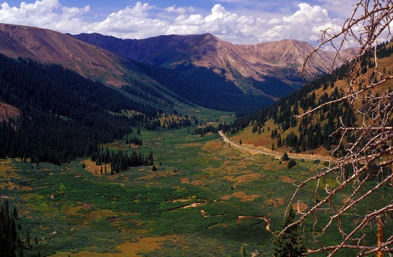 Independence pass, colorado, america