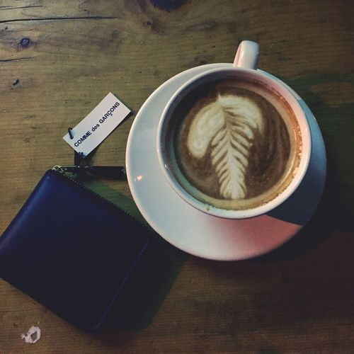 Coffee Coffee Time Comme Des Garcons Wallet
