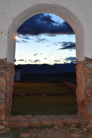 Window. Cloud - Sky Sunset_collection Sunset Outdoors Sacred Valley - Peru Architecture