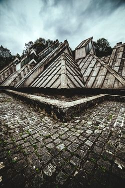 Building Exterior Built Structure Ancient Civilization No People Travel Low Angle View History Travel Destinations The Week On EyeEm Vacations Landscape Grass Mountain Range