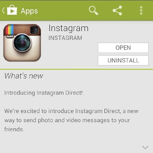 Instagram sends a FU Message to Snapchat . If you can't buy it, build it. Directmessage war