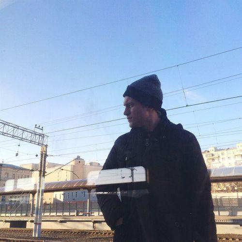 Hi) Boy Amazing Cool 5SOS EyeEm Best Shots Popular City Road Model Hipster WOW Moda Today's Hot Look Taking Photos Russia Moscow Railwaystation