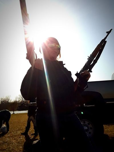 Guns Ohio, USA Ohio Shotgun Rifle Playing Sunlight