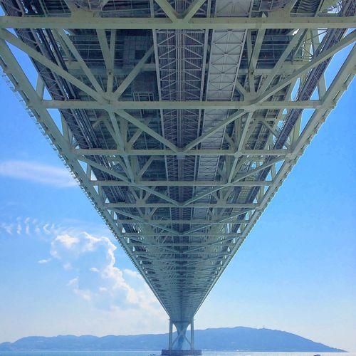 通るものの下側を通る。 Bridge Sea View Japan Goodday