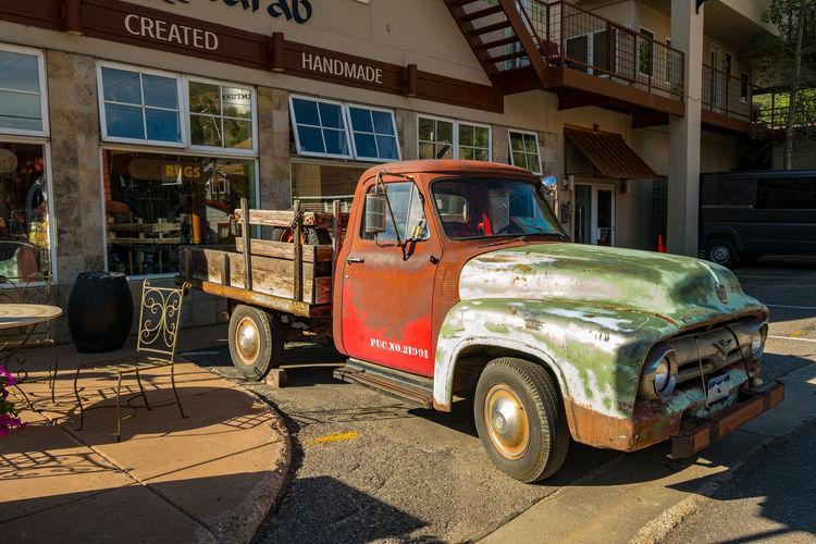 Classic Car Colorado Car Minturn Shadow Truck