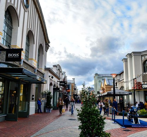 Architecture Travel Destinations Cloud - Sky Building Exterior Sky Tourism Large Group Of People Built Structure Travel City Outdoors Cityscape Vacations Day People Adult Adults Only Shopping Street Shopping Spree IngolstadtVillage Ingolstadt