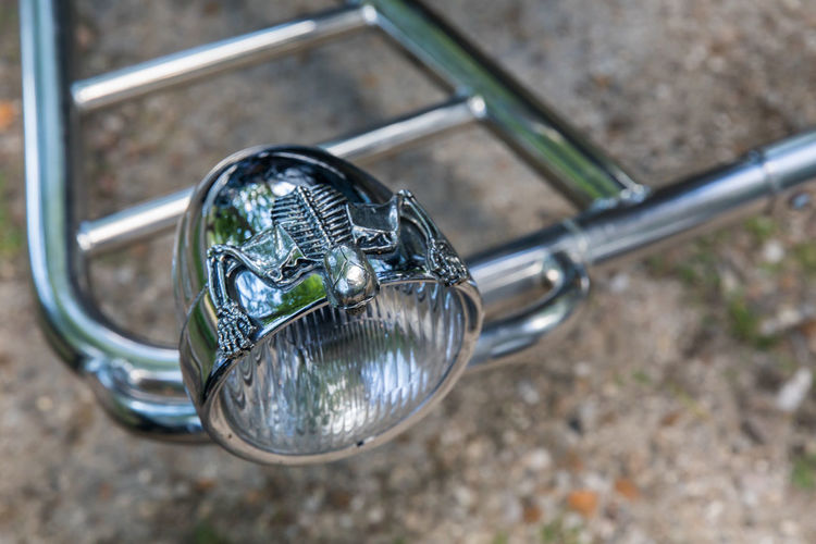 Bicycle Car Cars CarShow Close-up Day Land Vehicle Metal Mode Of Transport Motorcycle No People Outdoors Reflection Shiny Stationary Transportation