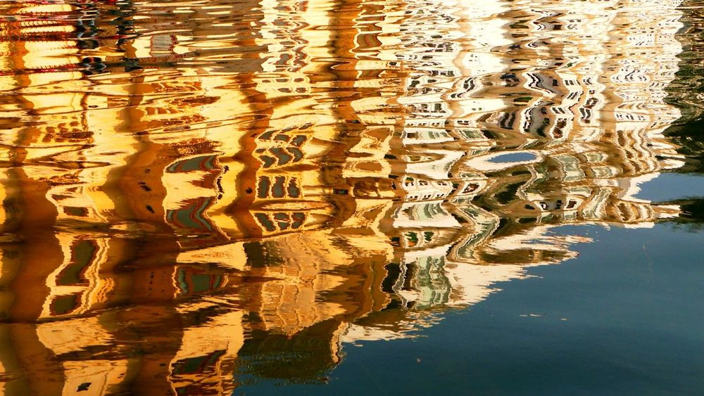 Water Reflections Udaipur Badi Lake Udaipur Sunset Colors Water_collection Rajasthan Water Reflection Reflection 43 Golden Moments Perspectives On Nature