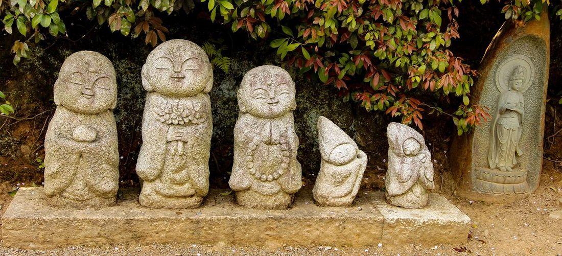 Arashiyama Buddhist Statue Kyoto Japan Photography Travel Photography Rickeherbertphotography Sculpture Statue Buddha In A Row Art And Craft History Stone Material Culture