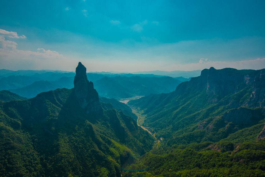 China Photos Nature Zhejiang,China Karst Mountain Ziseetheworld Ziwang Mountain Range Peak Forest