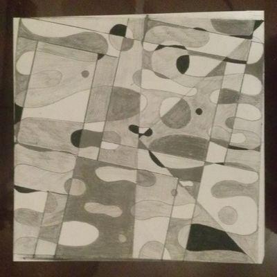 Fibonacci Grid Abstract 1 Art College Nojoke noprocrastination hardwork dedication project2