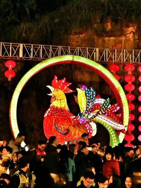 Chinese Traditional Style Night Cultures Chinese New Year Non-western Script Chinese Traditional Culture Chinese Art Hello World Chinese Lanterns Chinese Lantern Festival Year Of Rooster Astrology Sign Crowded Place crowds #city #night #people #Hangzhou City art good china-town amazing wow beautiful nice photo world colorful