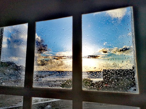 Window to Horizons Sea Beach Sunset After The Storm EyeEmNewHere Glow Random Dark Colour Burst Longing My Love Window Washer Looking Through Window Cityscape Frosted Glass Window Water Car Glass - Material