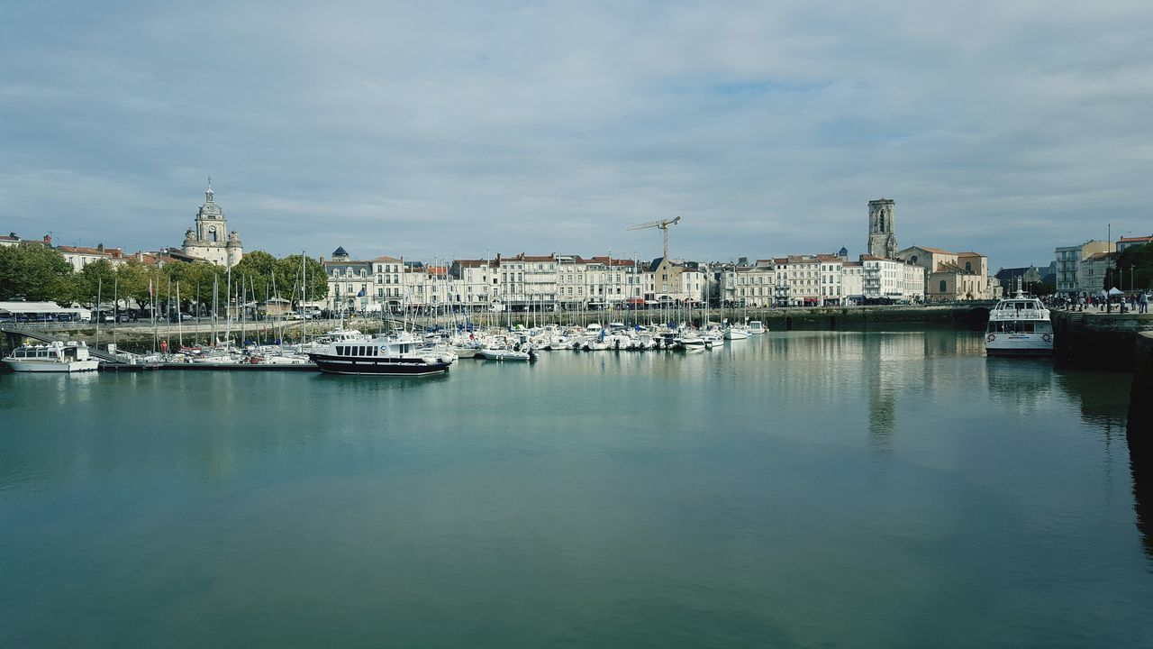 La Rochelle La Rochelle, France La Rochelle Shipping  Water Nautical Vessel Harbor Sea City Commercial Dock Beach Sailboat Yacht Reflection Marina TOWNSCAPE Rooftop My Best Travel Photo