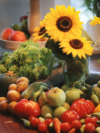 Choice Close-up Day Flower Food Food And Drink Freshness Fruit Healthy Eating Indoors  No People Variation Vegetable