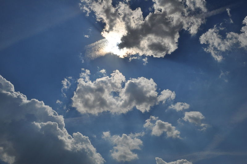Beauty In Nature Cloud - Sky Cloudscape Low Angle View Nature No People Outdoors Sky