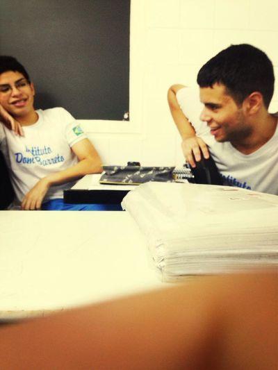 sendo lindo:icaro e pitoco Studying Ditching Class