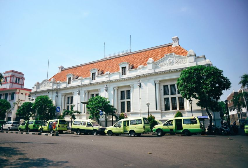 De Javasche Bank, Surabaya, East Java, Indonesia. Architecture Building Exterior Day Outdoors No People Built Structure Sky Surabaya INDONESIA