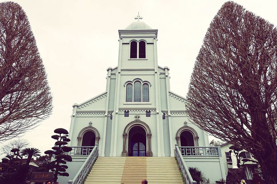 Nagasaki JAPAN Nagasaki Church Hirado 平戸 長崎 Travel Trip Photo Taking Photos平戸に行きました。紐差教会にて。 White White Color