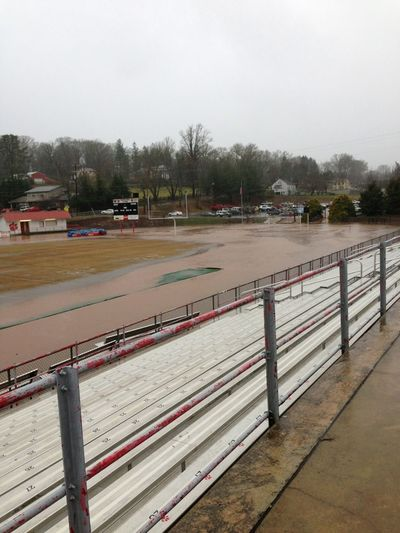 Flooding Football Feild