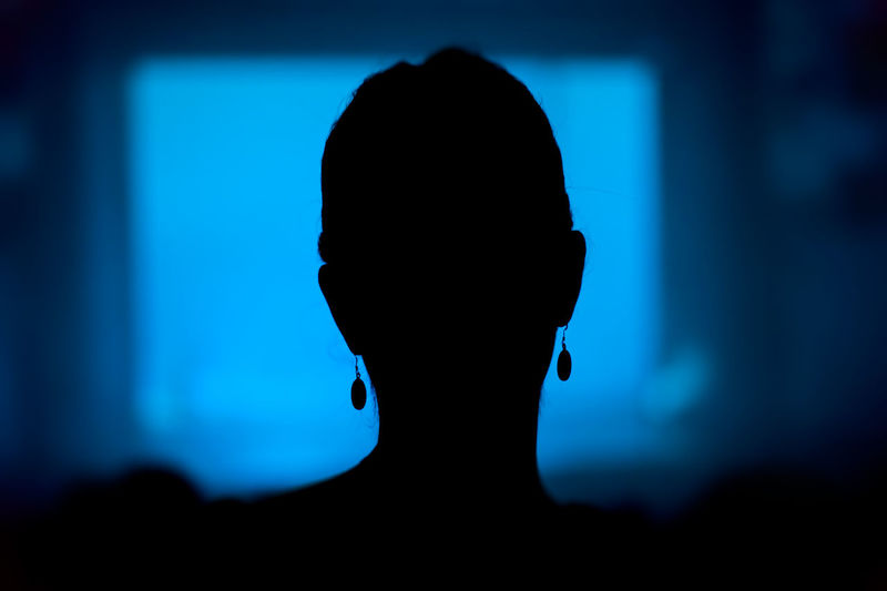 woman in theater Adult Audience Back Background Black Blue Close-up Dark Festival HEAD Headshot One Person Outline People Performing Arts Event Play Show Silhouette Sitting, Seated Spectator Stage Theater Theatre Watching A Performance Woman, Silhouette First Eyeem Photo