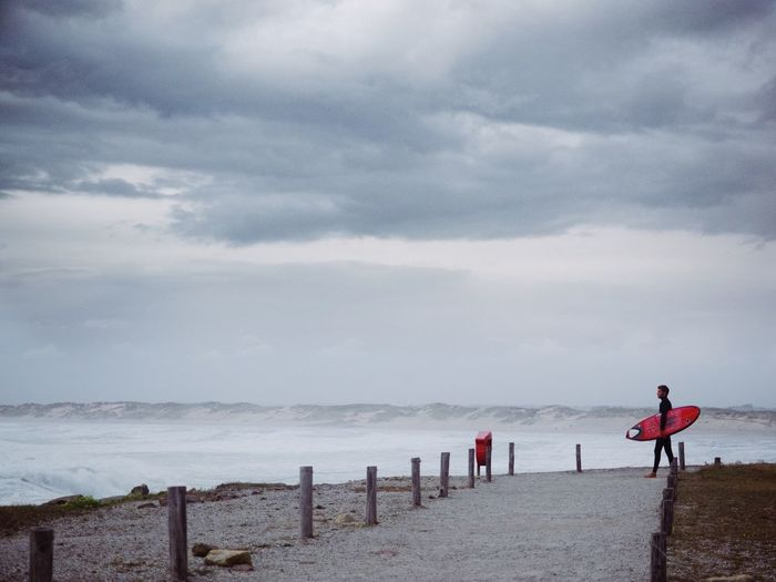 Waves Storm Surf Surfing Water Sea Beach Sky Cloud - Sky Beauty In Nature Land Nature Scenics - Nature Real People Horizon Over Water Men People Outdoors Leisure Activity