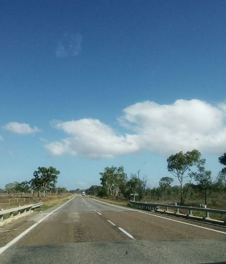 Road Trip,Australian Style.All photos taken at high speed,in the Car. Road Cloud - Sky The Way Forward Tree Transportation Blue Sky No People Landscape Day Outdoors Trip Landscape Full Frame Driving Photography In Motion Travel Full Frame Nature's Diversities