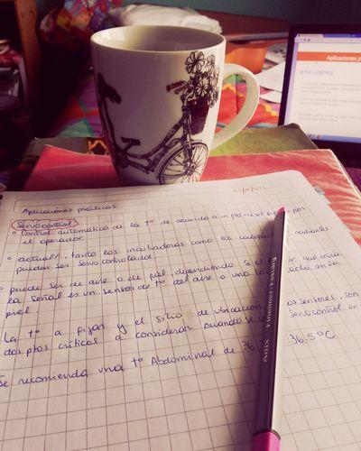Te Cup Of Tea Taza De Té Cuadernos Estudio Tarde Relajada Amo Lo Que Hago! Apuntes