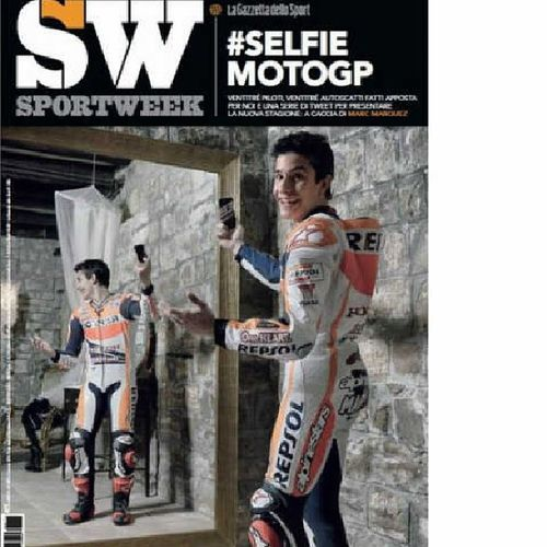 Sportweek Motogp Marcmarquez Selfie 93 MM93