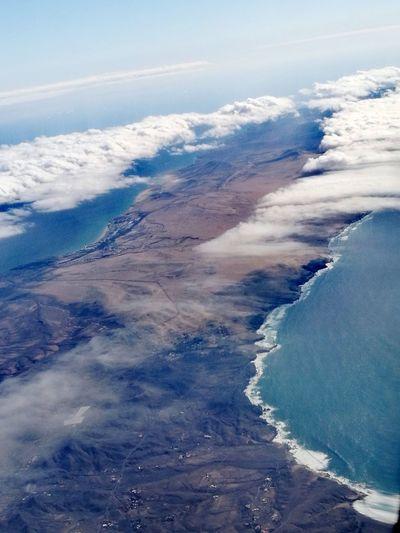 EyeEm Selects Water Sea Blue Aerial View Sky Cloud - Sky Landscape Volcanic Landscape Volcanic Crater Volcanic Rock Wave