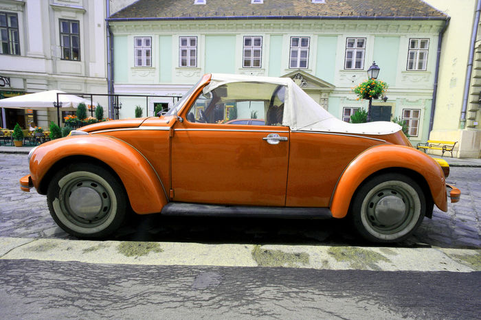 Canon Automotive Automotive Photography Beetle Budapest Cabrio Cabriolet Class Classic Classic Car Day Red Transportation VW VW Beetle