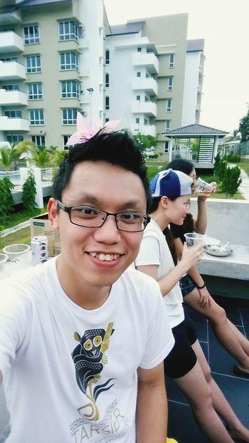 Relaxing Enjoying Life Selfie ✌ Self-portrait I'm pretty boy~