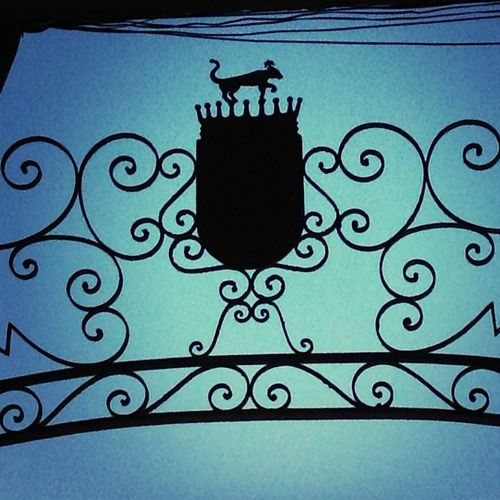 gated.
