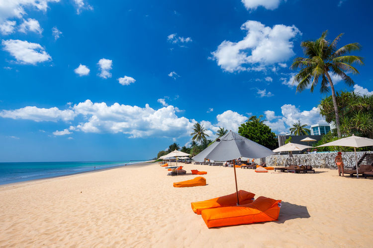 A remote beach
