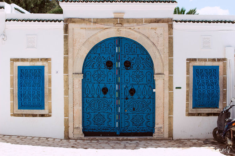Architecture EyeEm Best Shots Photography Streetphotography Streets Summer Tunisia White And Blue