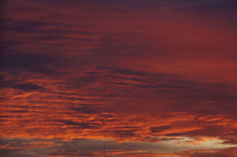 Abstract Awe Backgrounds Beauty Beauty In Nature Cloud - Sky Cloudscape Dramatic Sky Dusk Idyllic Low Angle View Multi Colored Nature No People Orange Color Outdoors Scenics Sky Sky Only Summer Sunlight Sunset Tranquil Scene Vibrant Color Weather