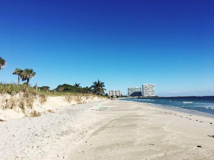 Sand Beach Blue