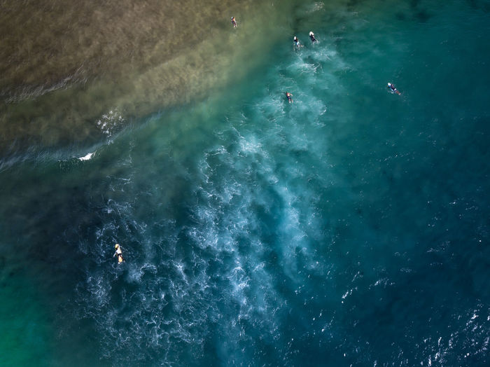 Aerial Shot Drone  Surf Aerial View Beach Beauty In Nature Blue colour of life Day Dronephotography High Angle View Mood Moody Motion Nature No People Outdoors Scenics Sea Vacations Wake - Water Water Water_collection Waterfront Wave